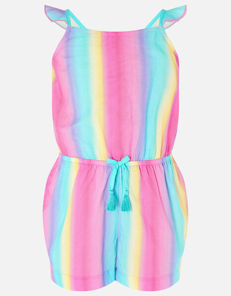 Rainbow Playsuit Multi, Multi (BRIGHTS-MULTI), large