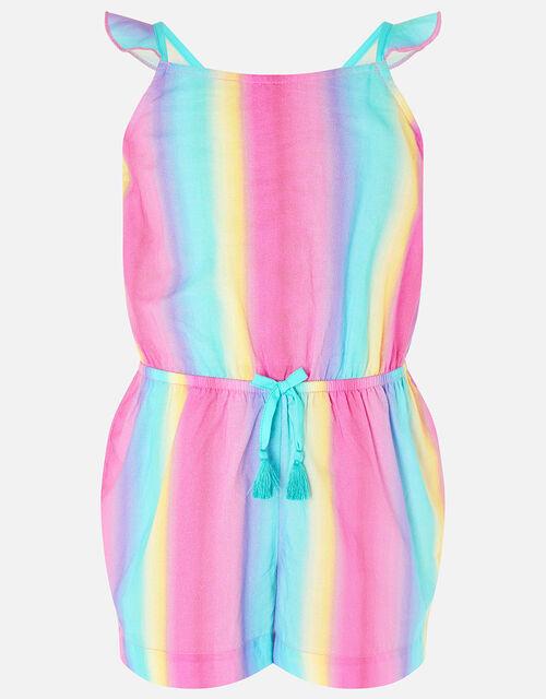 Rainbow Playsuit, Multi (BRIGHTS-MULTI), large