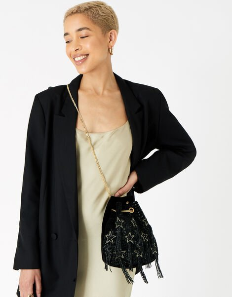 Star Chain Duffle Shoulder Bag, , large