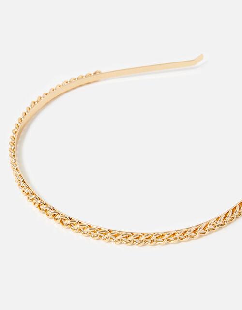 Thin Chain Headband , , large
