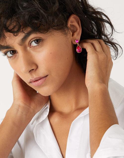 Mini Kylie Crystal Drop Earrings, , large