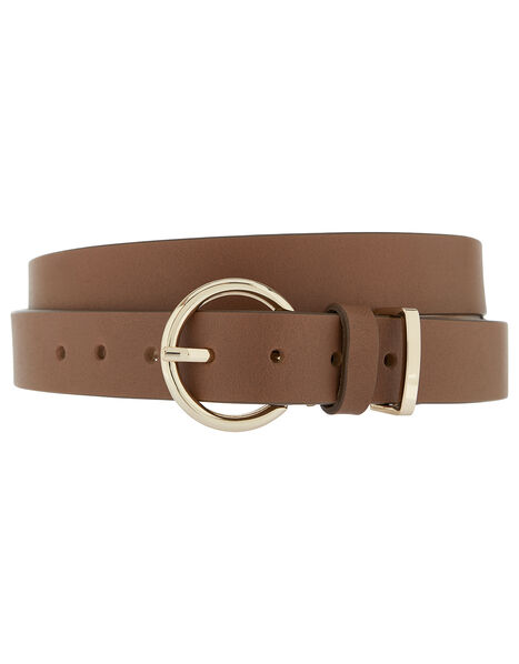 Tan Leather Belt Tan, Tan (TAN), large