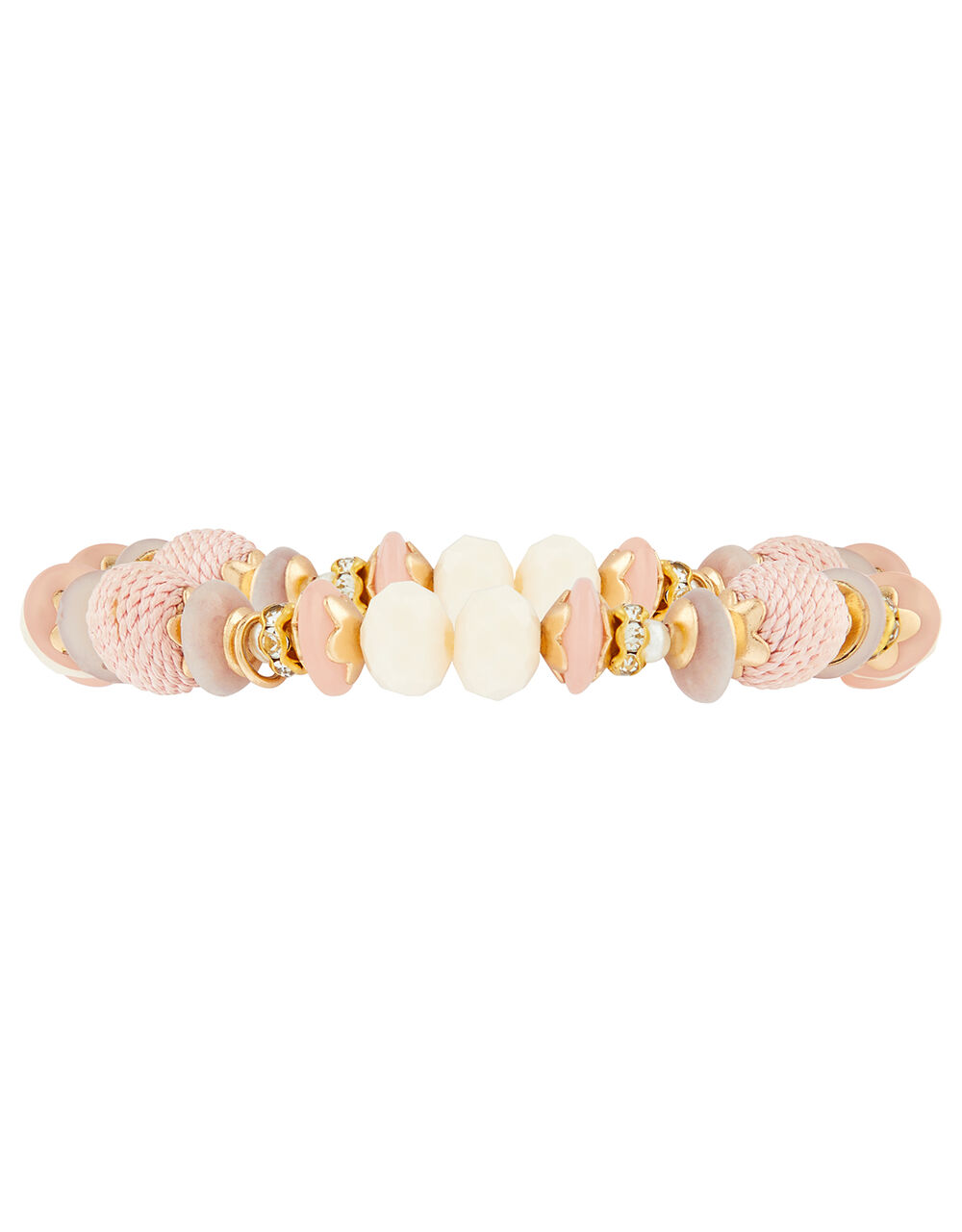 Beaded Stretch Bracelet, , large