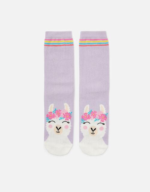 Lily Llama Socks, , large