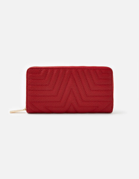 Star Quilted Purse Red, Red (RED), large