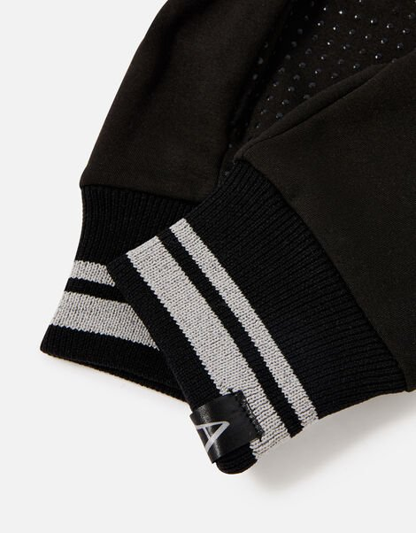 Active Gloves with Recycled Polyester Black, Black (BLACK), large
