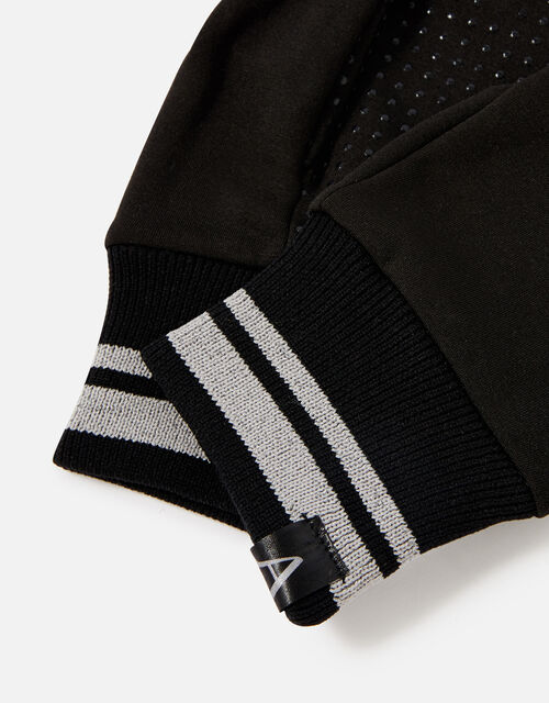 Active Gloves with Recycled Polyester, Black (BLACK), large