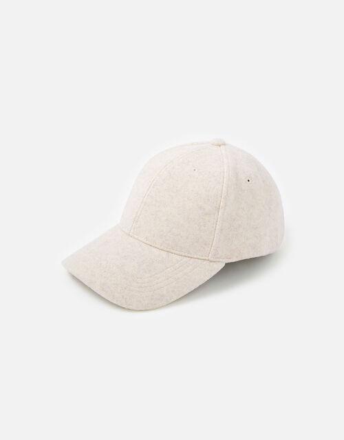 Super-Soft Marl Baseball Cap, Camel (BEIGE), large