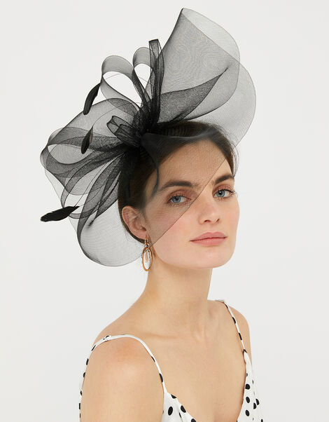 Accessorize Peacock Feather Hairband//Fascinator NEW