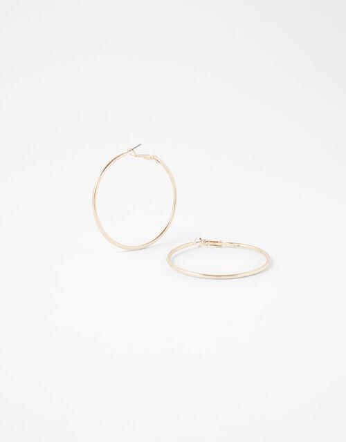 Medium Hoop Earrings, , large