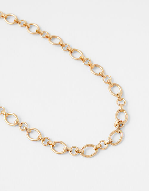 Circle Link Chain Necklace, , large
