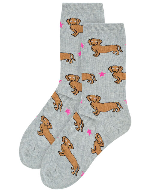 Sausage Dog Ankle Socks, , large