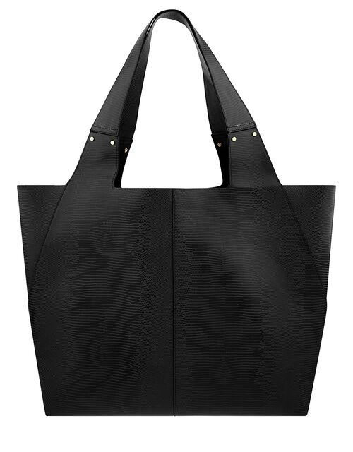 Shopper Bag, Black (BLACK), large