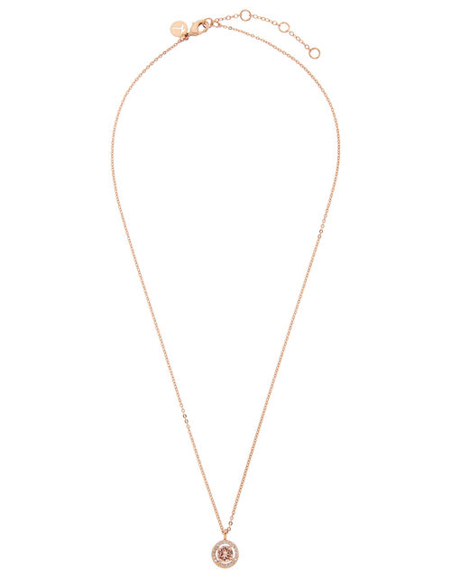 Halo Necklace with Swarovski® Crystals, , large