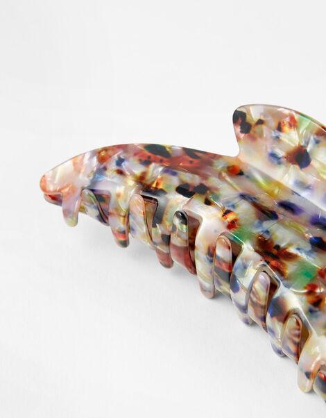Multicoloured Resin Bulldog Clip, , large