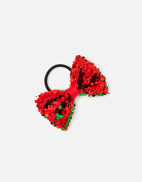 Sequin Bow Hairband , , large