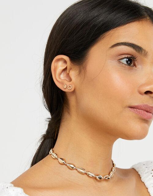 Leaf Earring Set, , large