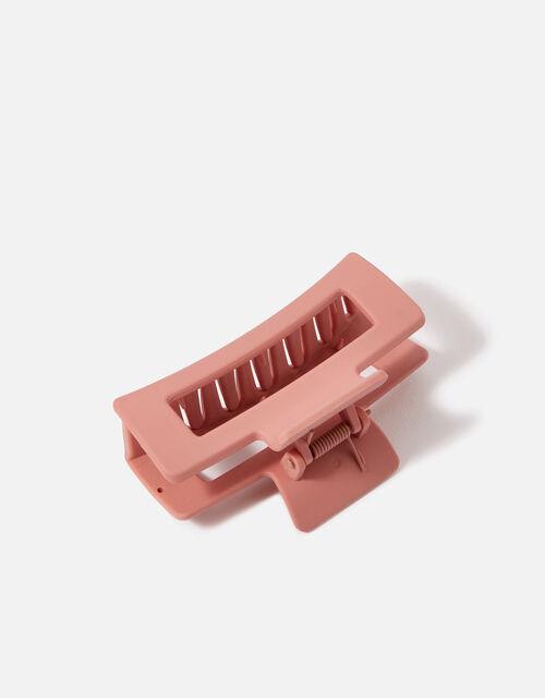 Medium Matte Rectangular Claw Clip, , large