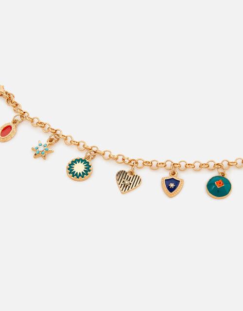 Reconnected Enamel Charm Bracelet, , large