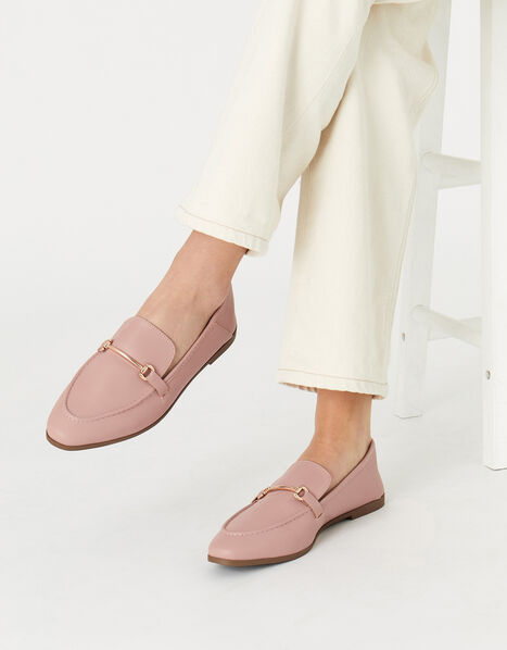 Tapered Loafers  Nude, Nude (NUDE), large