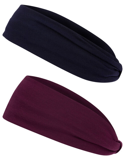 Plain Jersey Bando Headband Set, , large