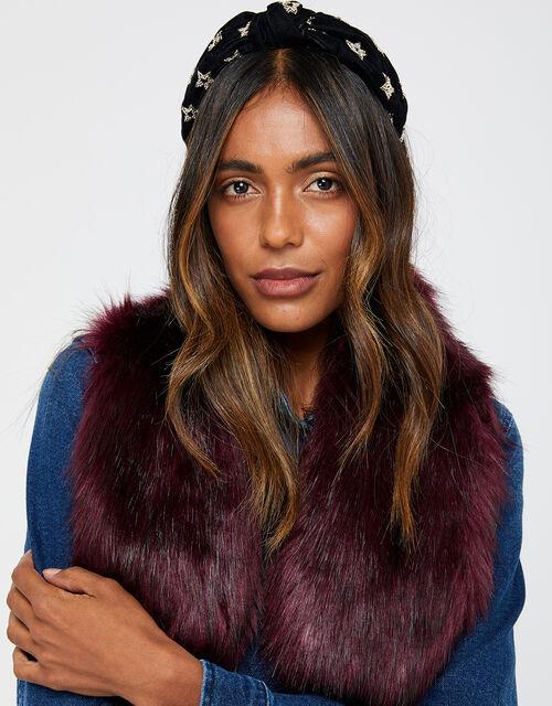 Faux Fur Tippet, , large