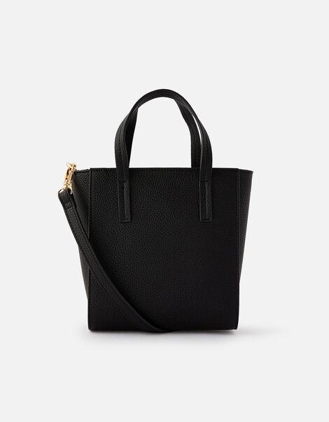 Mini Top Handle Cross Body  Black, Black (BLACK), large