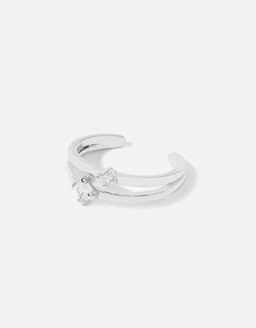 Platinum-Plated Ear Cuff, , large