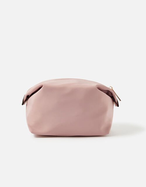 Nylon Pouch, Pink (PINK), large