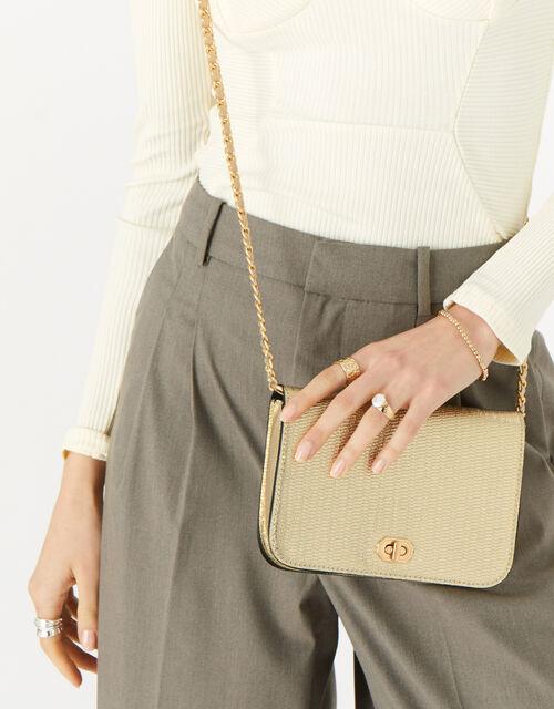 Erin Cross-Body Bag , Gold (GOLD), large