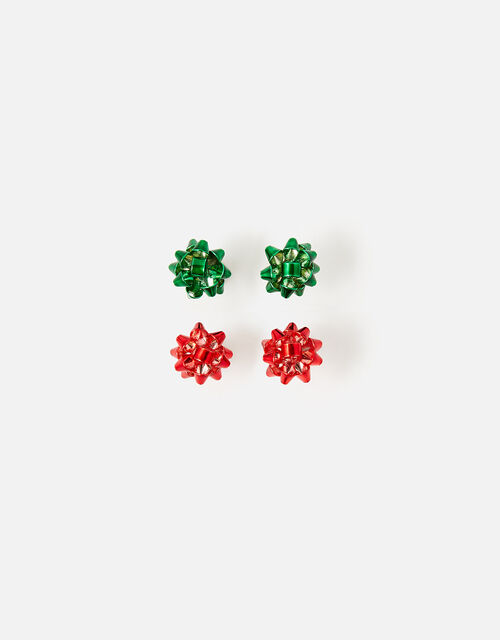 Present Bow Stud Earrings Twinset, , large