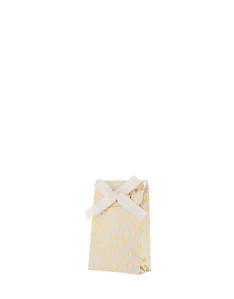 Gold Foil Print Gift Pouch, , large