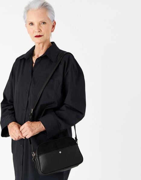Abby Cross-Body Bag  Black, Black (BLACK), large