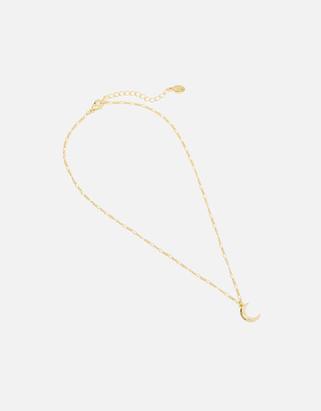 Carded Gifting Moon Necklace, , large