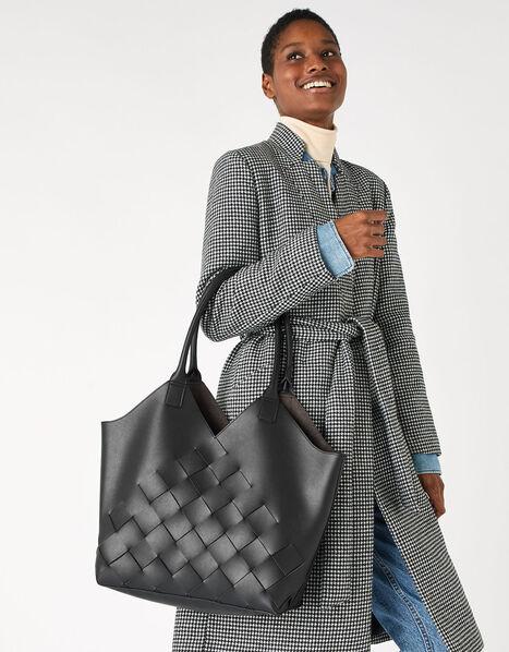 Harley Weave Shopper Bag Black, Black (BLACK), large