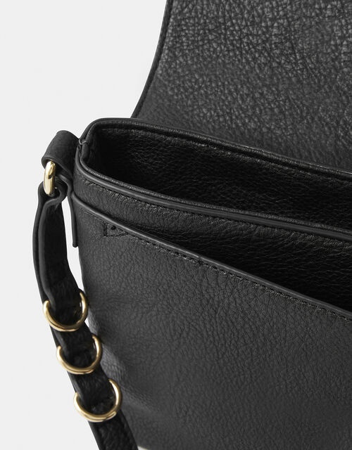 Ava Shoulder Bag, Black (BLACK), large