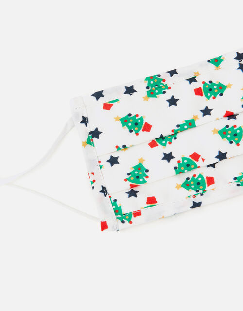 Christmas Tree Face Covering, , large