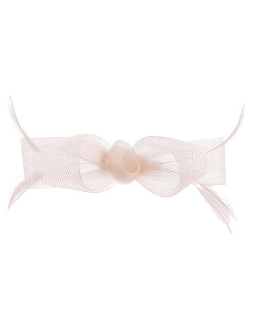 Ella Bow Hair Clip, Pink (PALE PINK), large