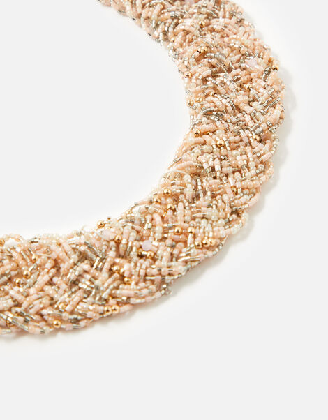 Meadow Muse Beaded Bib Necklace, , large