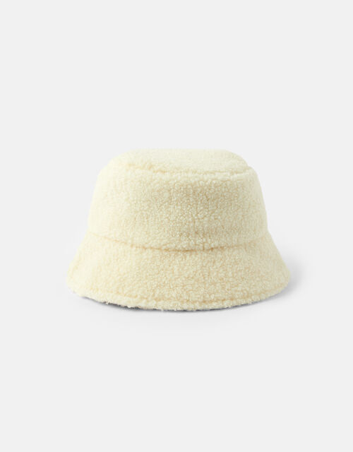 Shearling Bucket Hat, , large