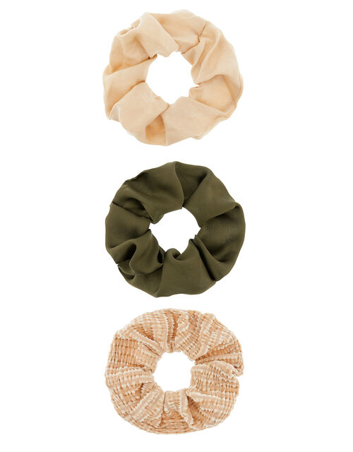 Hair Scrunchie Set, , large
