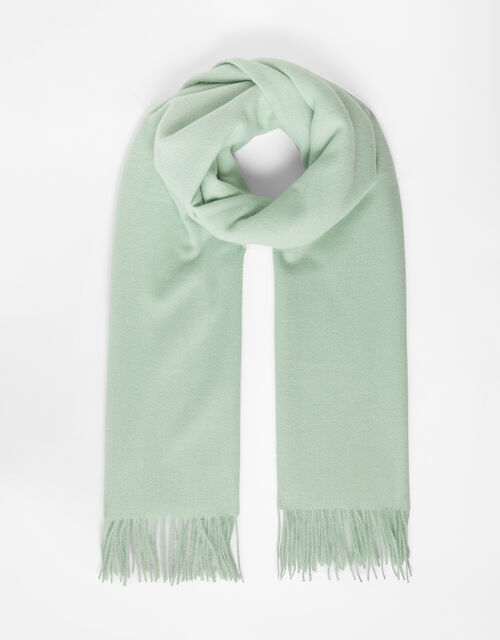 Holly Super-Soft Blanket Scarf Mint Green, , large