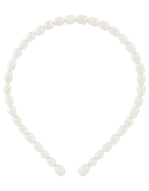 Freshwater Pearl Headband, , large