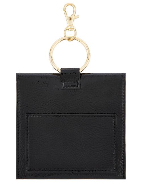 Key Chain Purse, Black (BLACK), large