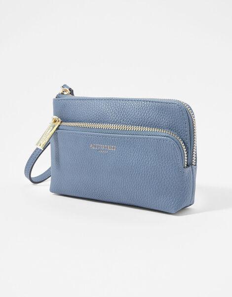 Wristlet Pouch Bag Blue, Blue (BLUE), large