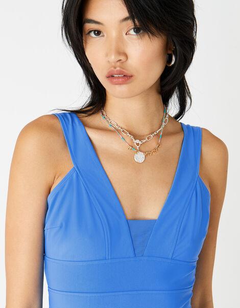 Lexi Plunge Shaping Swimsuit Blue, Blue (LIGHT BLUE), large
