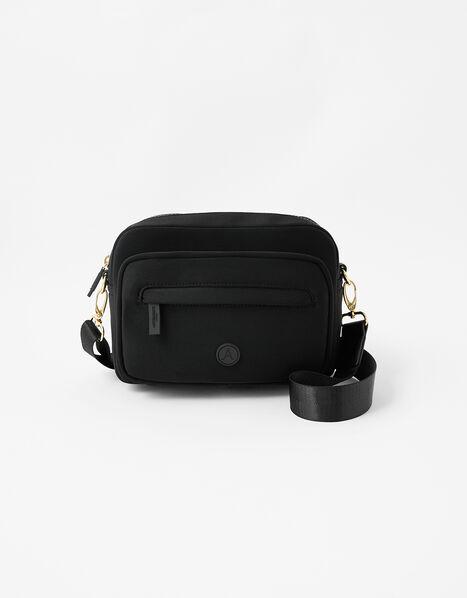 Cora Neoprene Cross-Body Bag, , large