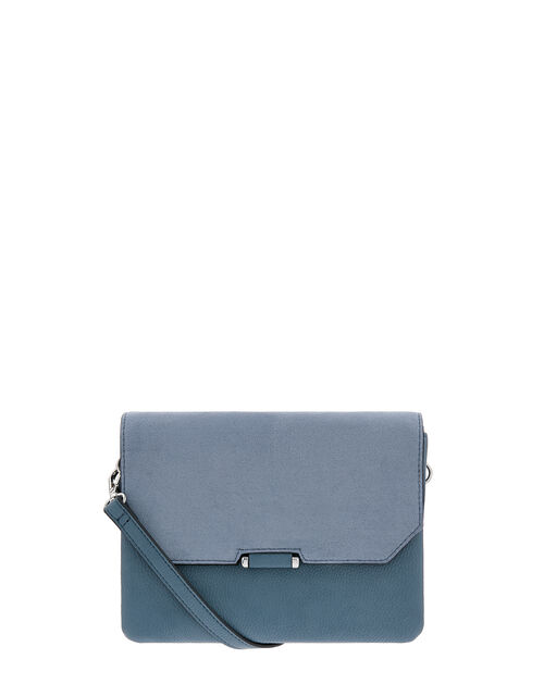 Callie Cross-Body Bag, Blue (BLUE), large