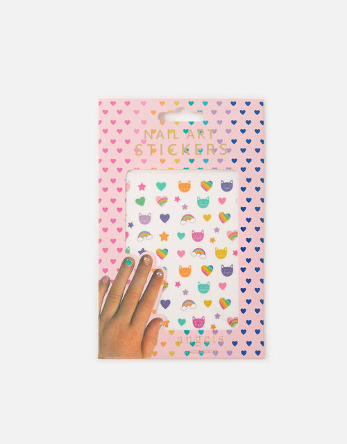 Cool Cat Nail Stickers, , large