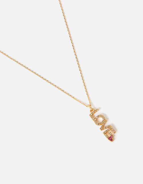 Feel Good Pendant Love Necklace , , large